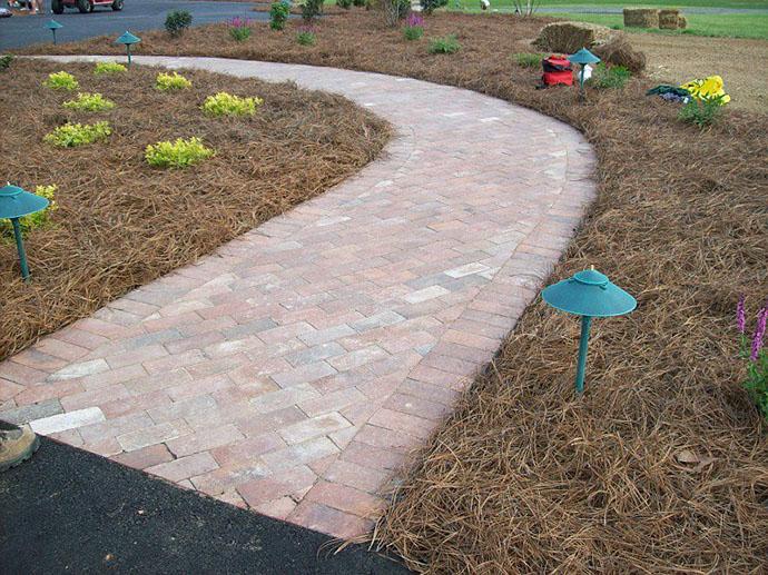 custom-curved-red-brick-paver-walkway-sidewalk